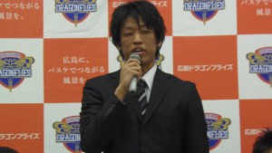 広島ドラゴンフライズ柳川龍之介選手