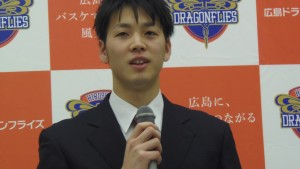 広島ドラゴンフライズ坂田央選手