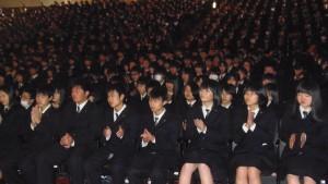 沼田高校の生徒さん