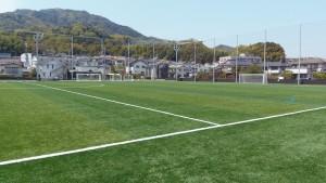 広島経済大学フットボールパークの北側