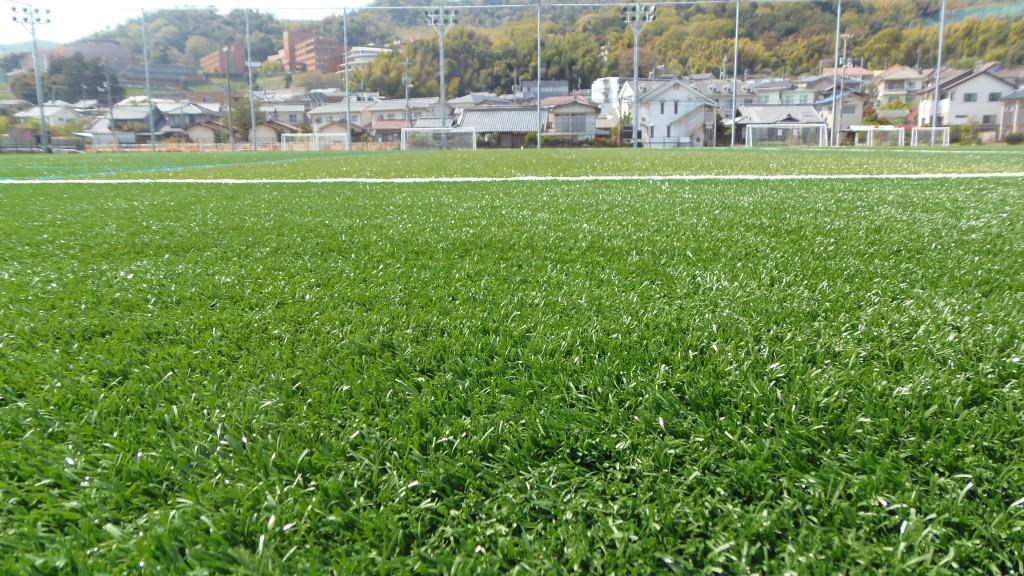 広島経済大学フットボールパークのピッチアップ