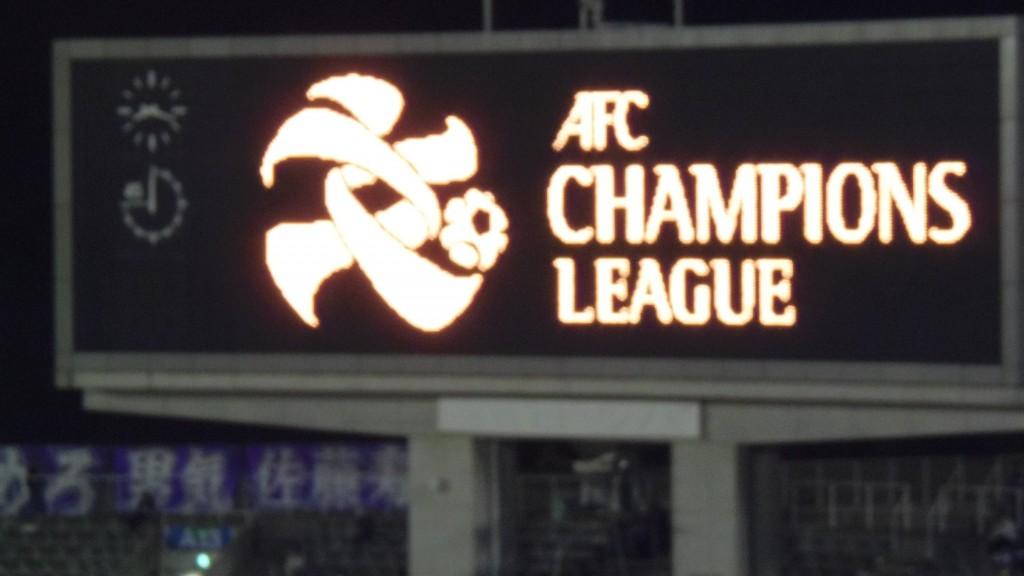 ACLの文字電光掲示
