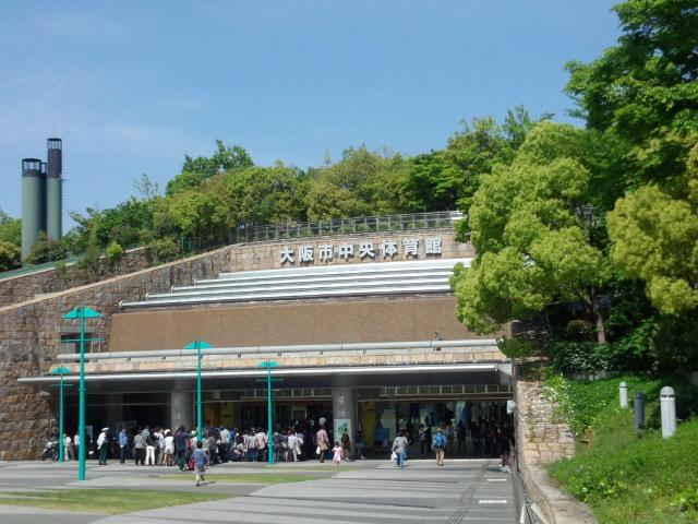 黒鷲旗大阪会場外観