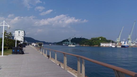 ONOMICHI U2から見た向島