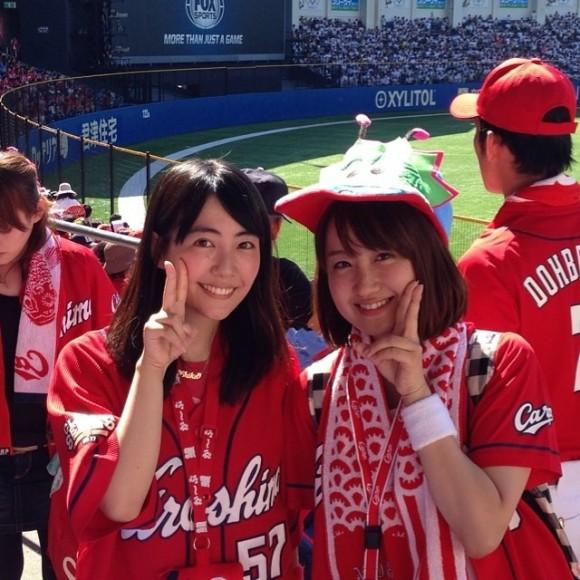 カープ女子麻生夏子さん