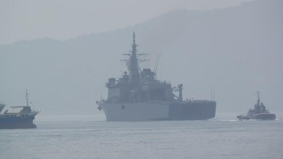 呉湾大型自衛艦