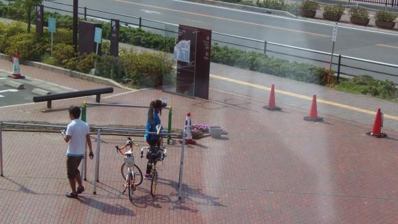 大和ミュージアムに自転車で