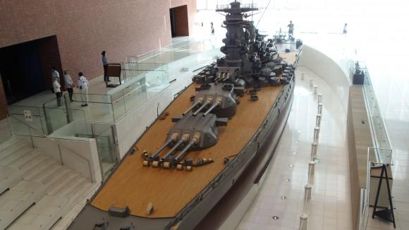大和ミュージアム中の大和模型