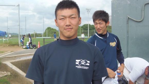福山大学野球部桑木投手