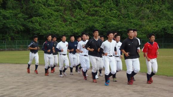 福山大学野球部ランニング