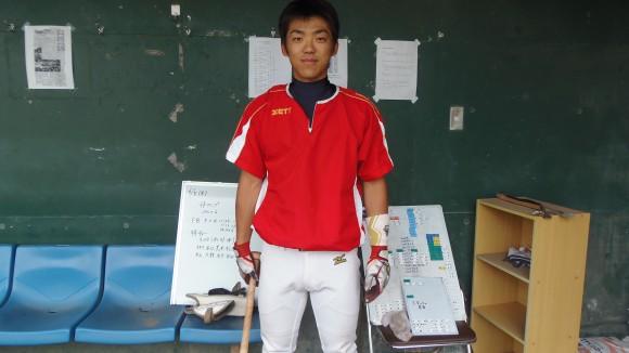 福山大学野球部木村主将