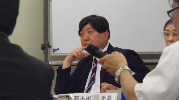 検討協議会、小谷野委員