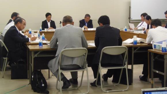 検討委員会、日本総研側