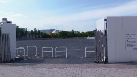 ワールドカップ第3戦の日の市民球場跡地