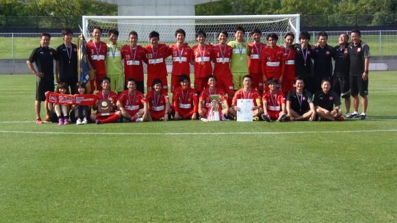全広島サッカー優勝のSRC広島
