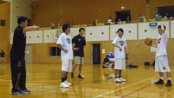 広島ドラゴンフライズ合宿でメンバー集合