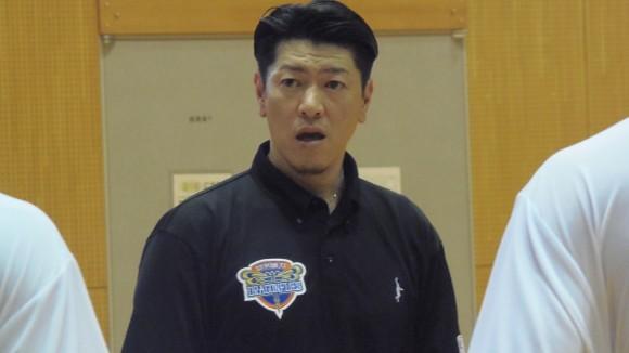 広島ドラゴンフライズ佐古賢一ヘッドコーチ合宿で喝!