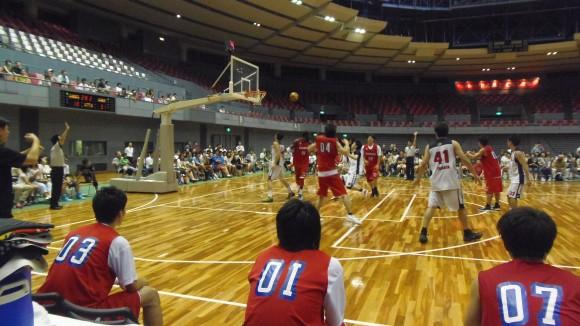 広島ドラゴンフライズ大塚戦横位置ロング