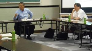 山根副会長と小谷野委員