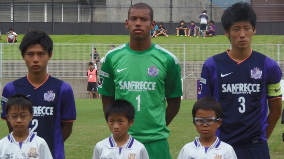 平和祈念サッカー最優秀の伊藤選手