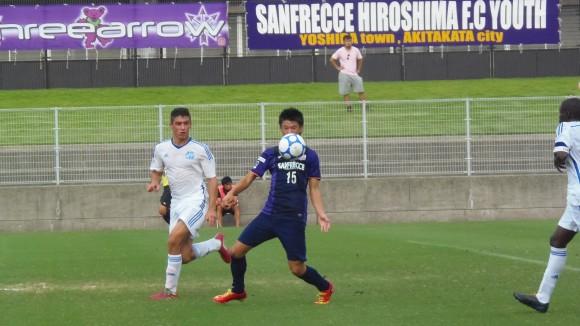 U-17代表サンフレユース加藤陸