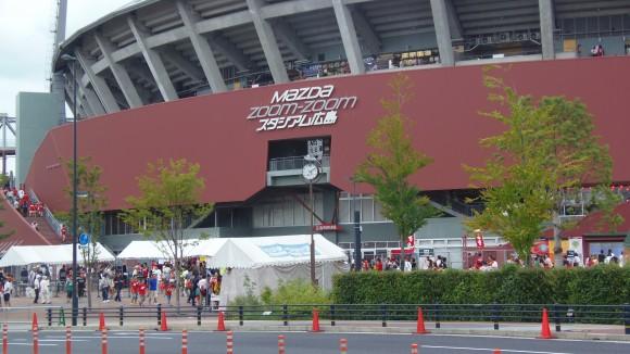 広島災害でも試合開催のマツダスタジアム