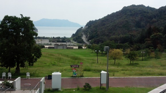 グリーンピアせとうちから見る瀬戸内海