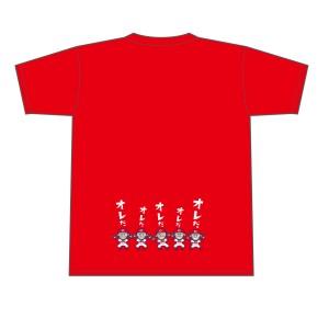 菊池サヨナラTシャツ裏面