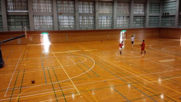安浦合宿ロングスロー対決2