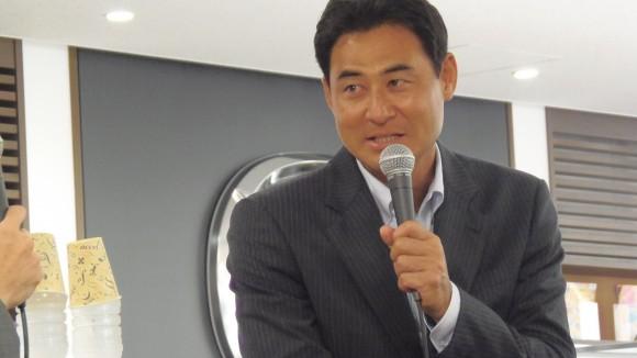 前田智徳さんトークショーワンショット