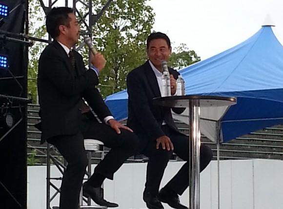 前田智徳さんトークショー、ちゅーぴーまつり