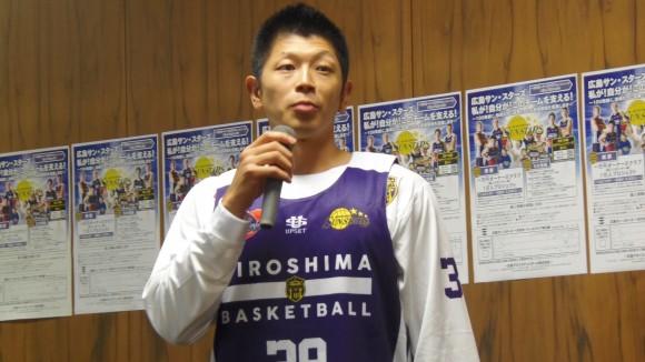 広島サン・スターズ福田選手