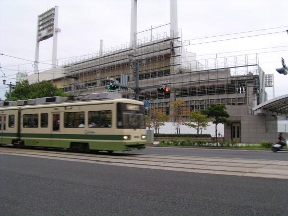 解体される広島市民球場
