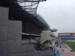 改修名の等々力陸上競技場