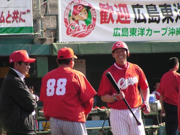 2007年キャンプの新井貴浩