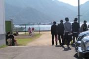 大野練習場から見る宮島