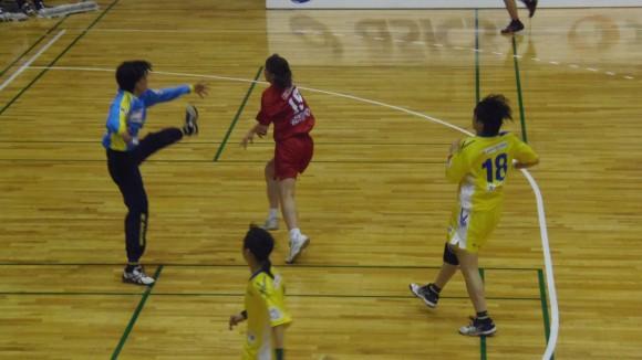 広島メイプルレッズ松村9得点で6連勝