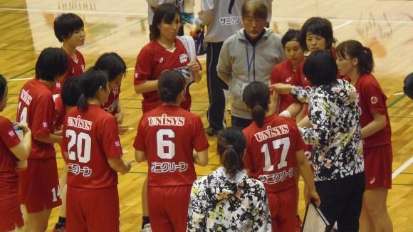 広島メイプルレッズ6連勝タイムアウト