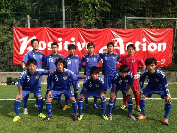福山大学サッカー部12月の選手権に臨む