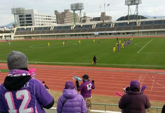 皇后杯2回戦、広島スタジアム