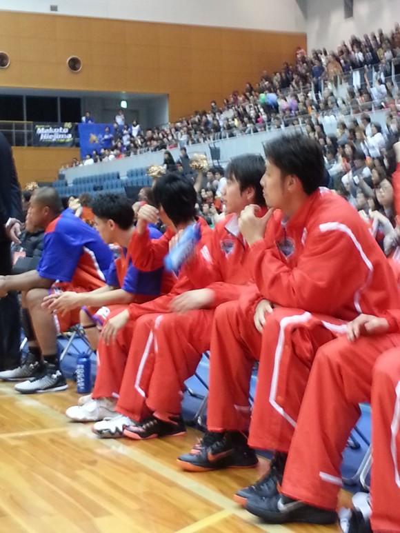 呉市総合体育館に帰ってきた仲摩匠平選手