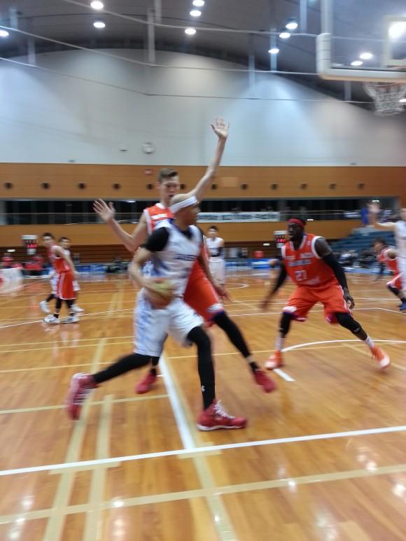 呉市総合体育館での白熱ゲーム