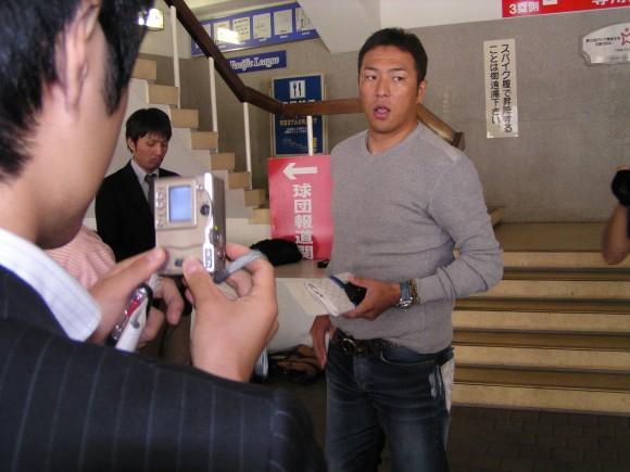 2007年11月の黒田