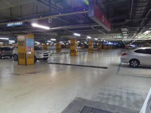 ソウルワールドカップ競技場駐車場