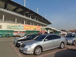 ソウルワールドカップ競技場外観