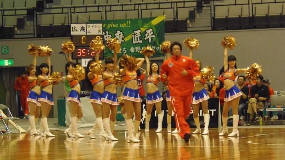 柳川選手入場