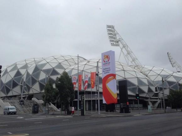 豪州アジア杯2015年1月9日開幕戦
