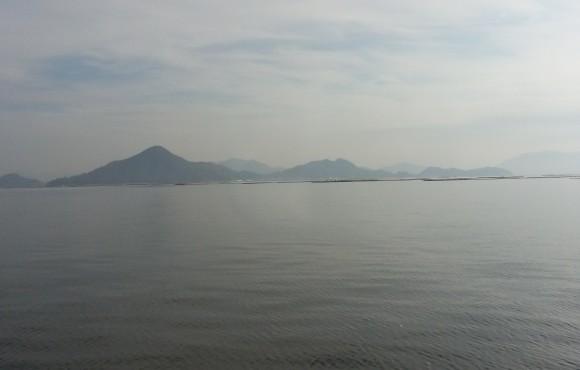 広島湾の多島美