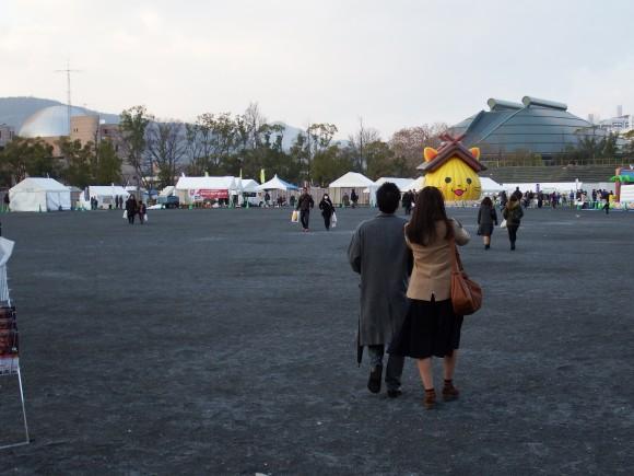 跡地イベントガラガラ