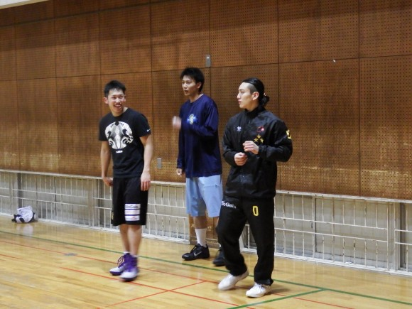 前村選手2015年1月17日